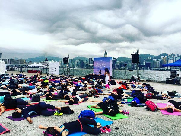 Hong Kong yoga and wellness festival