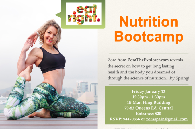 Nutrition Bootcamp January 13th
