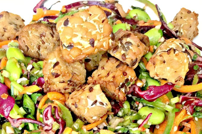 Lemon Pepper Tempeh Cubes Recipe