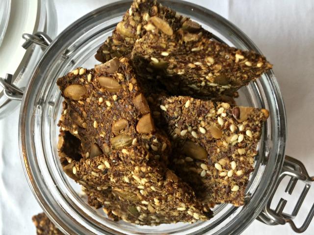 Omega-ad Flaxseed Crackers