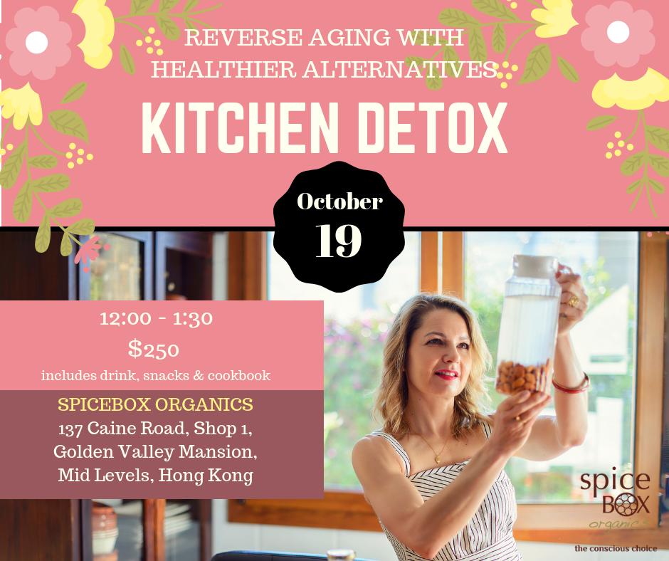 Kitchen Detox Hong Kong October 19