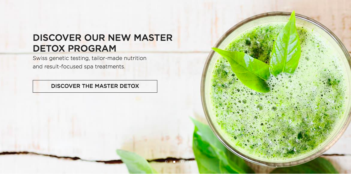 Master Detox Program Clinique La Prairie